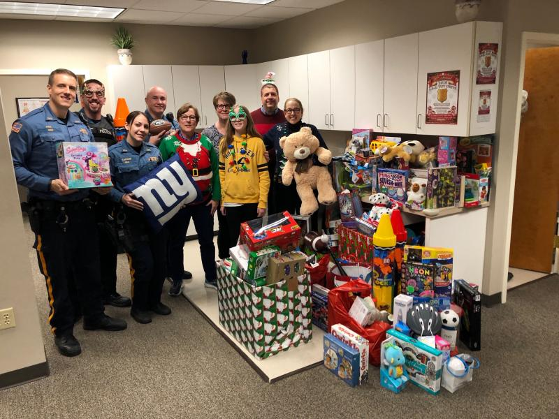 #ParamusStrong was a huge driving force behind this year's Toy Drive!